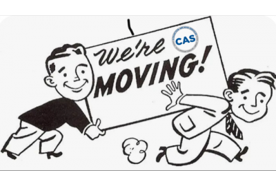 CAS is Moving!